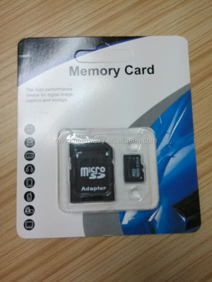 4gb memory cards hot sell sd card support custom packing