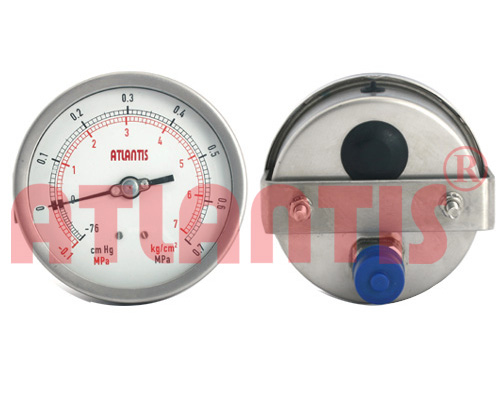 All Stainless Steel Vacuum Gauge