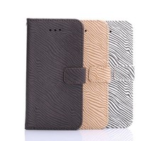 Protective Sleeve for iphone 6 Case; Zebra Pattern Card Holder Wallet Leather Case for iphone 6, Slim Case for iphone 6