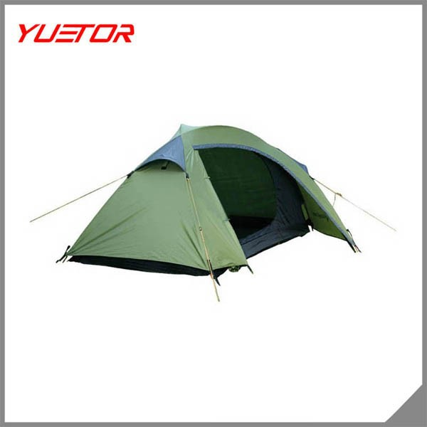 New style 2 person traveling camping tent easy dome hiking waterproof tent