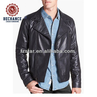 LZ325 casual wear PU leather jackets for men