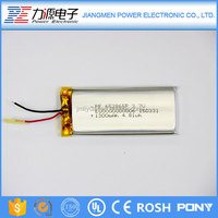 Factory Price 3.7v small li-ion rechargeable polymer battery 1200mah