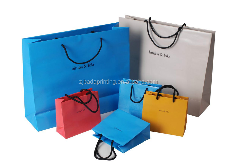 Luxury Paper Bag/Paper Gift Bag/Custom Shopping Paper Bag