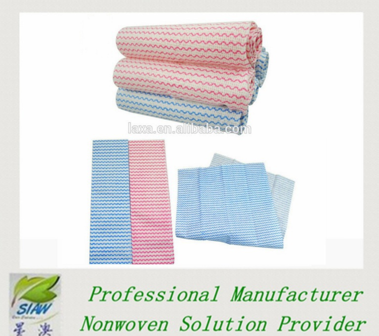 spunlace industrial wiping paper roll