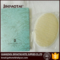 New style Hot Sell double Sides Natural Loofah + Cotton baby Bath Sponge