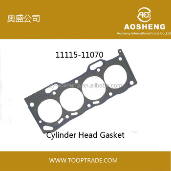 AOSHENG brand High quality,factory hot selling engine cylinder head gasket 11115-71010