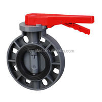 high quality 1 inch pvc butterfly valve hot sale