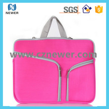 Manufacture low price fancy neoprene 17.5 laptop bag