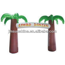 Promotion inflatable palm tree entrance arch