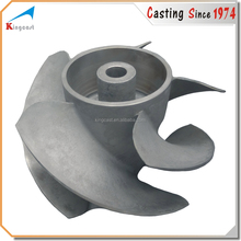 OEM cast iron water pump cast impeller,cast blower impeller,cast impeller