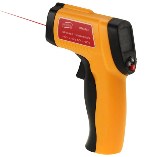 BENETECH GM300E Digital Laser Point Infrared Thermometer, <strong>Temperature</strong> Range: -50-420 Celsius Degree