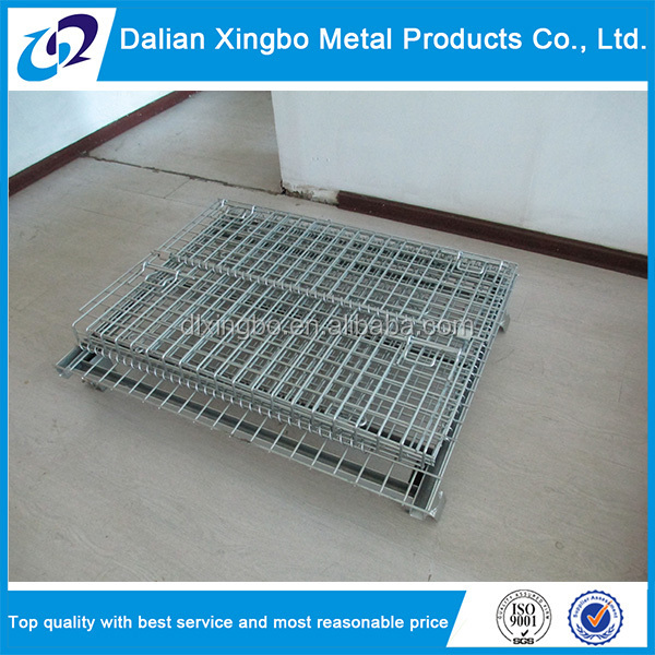 cargo and storage equipment steel storage metal cages with wheels
