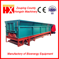 wood log debarking machine