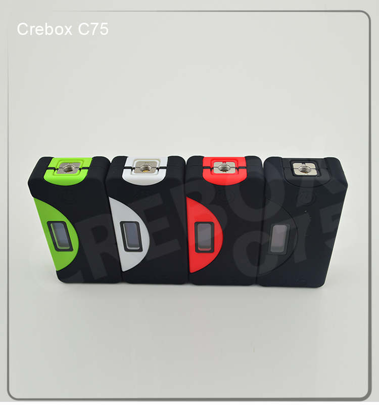 ABS material occupied with waterproof feature - C75 mech mod box