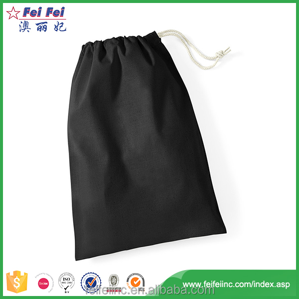 2017 newest promotional cotton bag drawstring