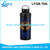 Student wide mouth large capacity 500ml water bottle to the gym