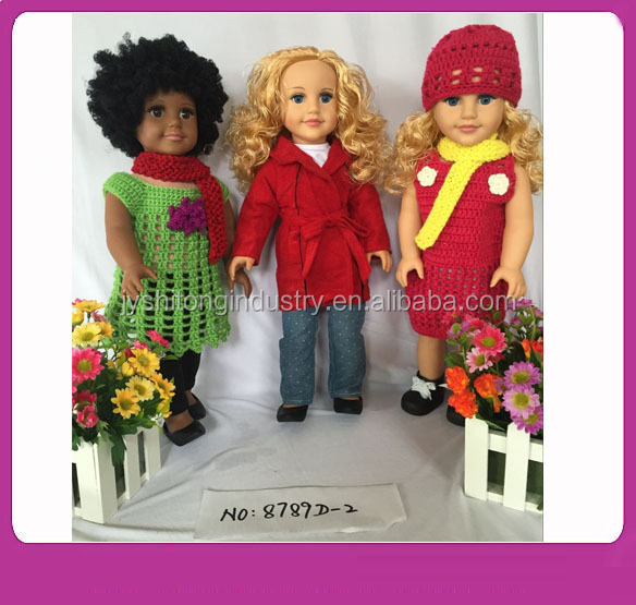 Baby Toys 18 inch American Girl Doll/18 inch Fashion Vinyl Dolls/American Girl Doll Factory