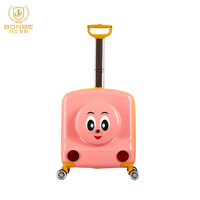 Fashion Design The Latest Fashion 3d Printed Air Travel Cheap Small Luggage For Kids