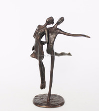 Home Decor Casting Iron Arts And Craft Bronze Figure Dancing Sculpture