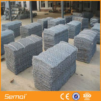 ISO 9001 High Qualtiy Galvanized Gabion Box Retaining Wall/PVC Gabion Box Retaining/gabion box for wall