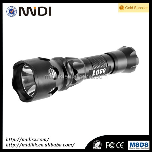 EXW price professional Camping LED Torch/ Flashlight Logo Imprint Camping data Load Outled flashlight