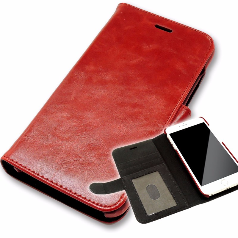 custom flip leather wallet case for mobile cell phone case