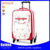 2015 new trolley bag Cute Printed durable suitcase for girl , cute travel trolley luggage bag