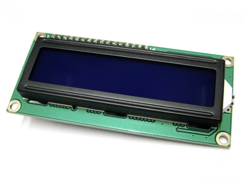Serial Enabled 16x2 LCD(Black on Green 5V)arduino compatible