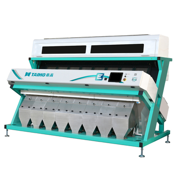NIR LAMPS SORTING MACHINE RICE AND PINE NUT COLOR SORTER IN CHINA