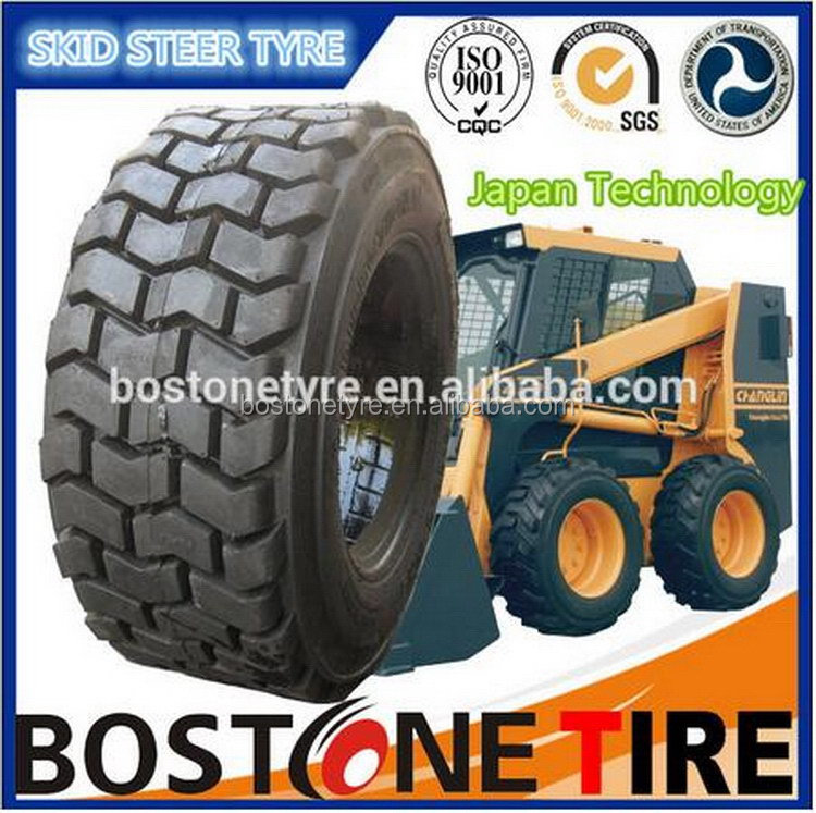 Factory manufacture skid steer tractor tires prices