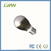 Aluminum alloy mr 16 LED bulb warm white SMD 5730 CE ROHS FCC approved