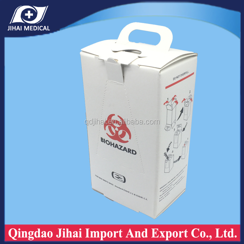 all surgical items medical disposable paper box for syringe and needle