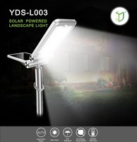 Yardshow Waterproof Solar Power Automatic Sensor Outdoor led lawn light