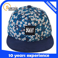 create lace & floral snapback hats wholesale