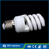 Voltage 110v / 220v Lamp Shell PBT Material spiral Shape CFL principle fluorescent light