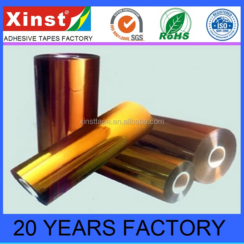 Heat Resistant Colors of Polyimide Film For PCB Masking Insulation