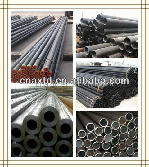 Variety and bright surface seamless steel pipe made in china