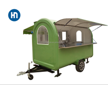 High standard outdoor mobile food cart/truck/van/trailer/concession towable food cart for sale