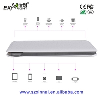 extra battery for iphone powerbank 8000 slim power bank built in cable With 2A Output