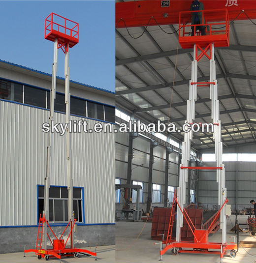 hydraulic arm manlift platform
