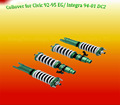 Adjustable coilover suspension kit for EG 92-95/ Integra 94-01 DC2