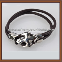 Simple Style Round Leather Cord Arrow