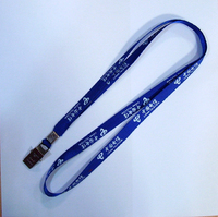 High Quality Custom Printed polyester Neck Lanyards