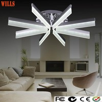 2015new designed modern indoor round acrylic led solar ceiling lights