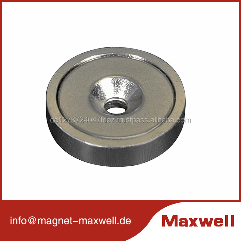 strong power neodymium permanent magnets with countersink for motor