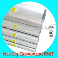 emt pipe zinc coated steel pipes ul listed
