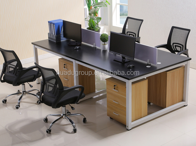 High Quality Office Furnitures/Cheap managerial Office workstation /Office Desk for 4 people
