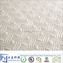 Waterproof quilted mattress protector ticking fabric