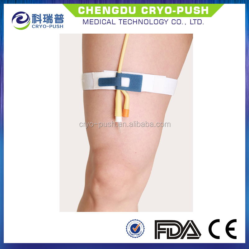 Medical Foley and Catheter Tube Holder for Leg Band