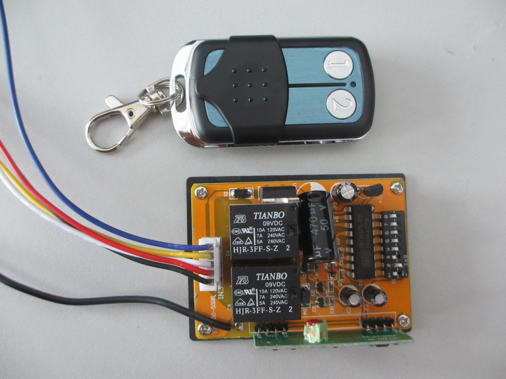Universal RF Door DIP Switch Remote Control Transmitter , Opener Accessories